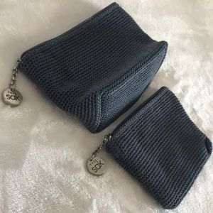 Two The Sak small Cosmetic Bags
